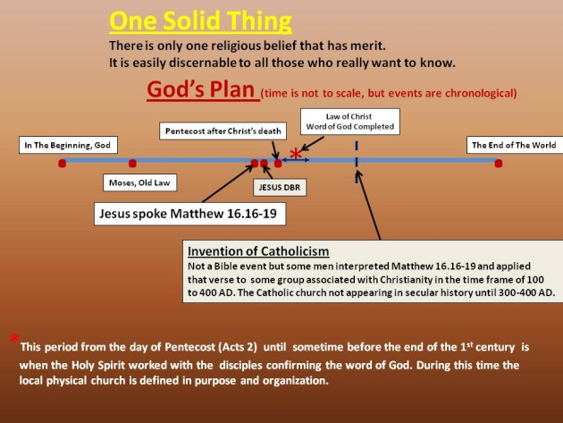 One Solid Thing - God's Word